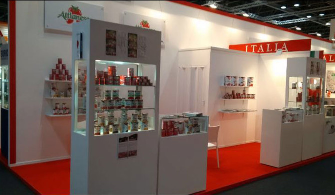 Attianese Conserve present at GulFood 2016