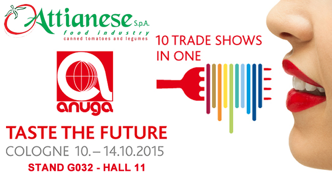 Attianese Conserve will be exhibiting at Anuga