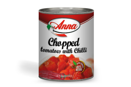 Chapped Tomatoes with Chilly