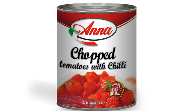 Chopped Tomatoes with Chilli